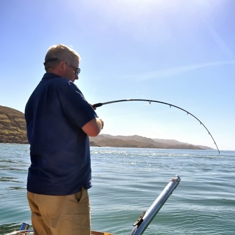 sea fishing in Scotland