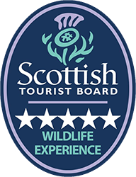 Scotish Tourist Board 5 star Wildlife Experience