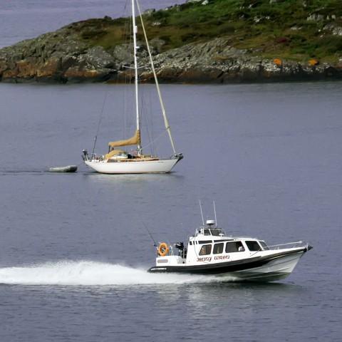 Jenny Wren support boat